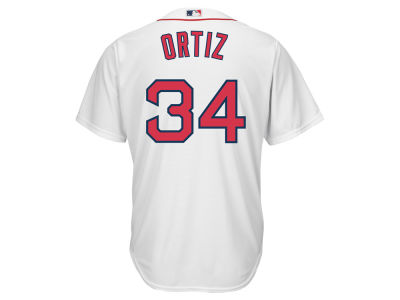 Boston Red Sox David Ortiz Majestic MLB Men's Player Replica CB Jersey