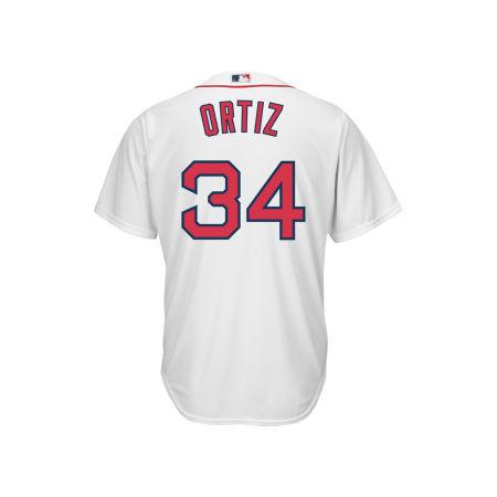 Boston Red Sox David Ortiz Majestic MLB Men's Player Replica Cool Base Jersey
