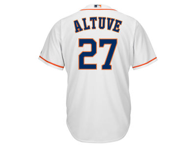 Houston Astros José Altuve Majestic MLB Men's Player Replica CB Jersey