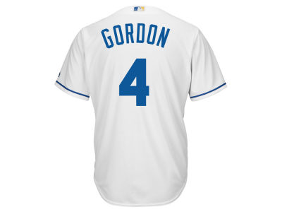 Kansas City Royals Alex Gordon Majestic MLB Men's Player Replica Cool Base Jersey