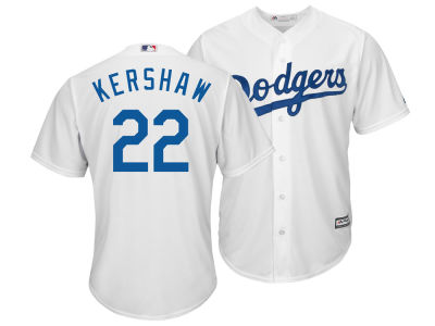 Los Angeles Dodgers Clayton Kershaw Majestic MLB Men's Player Replica Cool Base Jersey