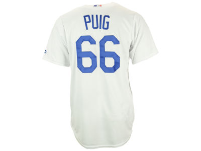 Los Angeles Dodgers Yasiel Puig Majestic MLB Men's Player Replica Cool Base Jersey