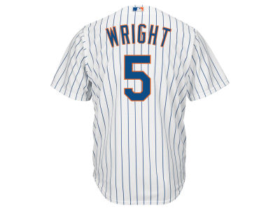 New York Mets David Wright Majestic MLB Men's Player Replica Cool Base Jersey