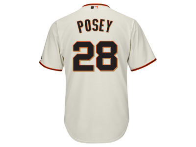 San Francisco Giants Buster Posey Majestic MLB Men's Player Replica CB Jersey