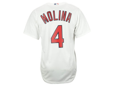 St. Louis Cardinals Yadier Molina Majestic MLB Men's Player Replica CB Jersey