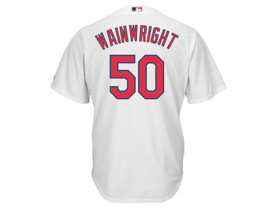 St. Louis Cardinals Adam Wainwright Majestic MLB Men's Player Replica Cool Base Jersey
