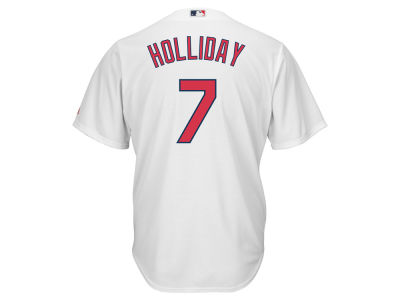 St. Louis Cardinals Matt Holliday Majestic MLB Men's Player Replica CB Jersey