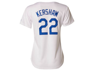 Los Angeles Dodgers Clayton Kershaw Majestic MLB Women's Cool Base Player Replica Jersey