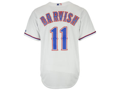 Texas Rangers Yu Darvish Majestic MLB Men's Player Replica Cool Base Jersey