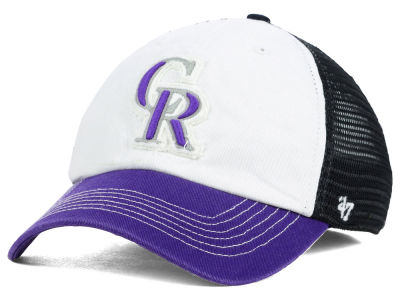 Colorado Rockies '47 MLB Privateer '47 CLOSER Cap