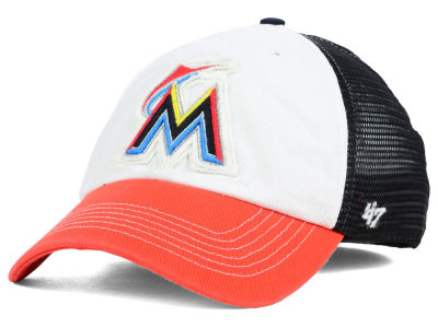 Miami Marlins '47 MLB Privateer '47 CLOSER Cap