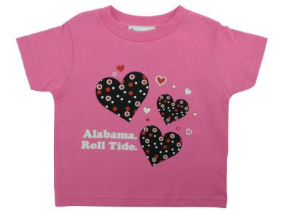 Alabama Crimson Tide NCAA Toddler Heart T-Shirt