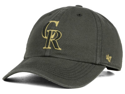 Colorado Rockies '47 MLB Stillwater '47 CLEAN UP Cap