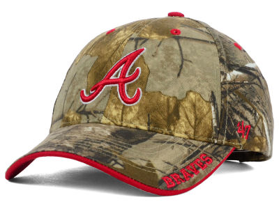 Atlanta Braves '47 MLB Real Tree Frost Cap
