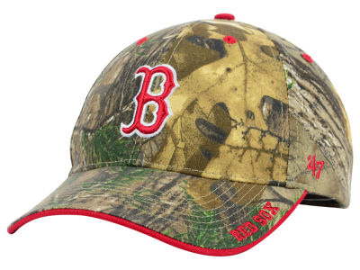 Boston Red Sox '47 MLB Real Tree Frost Cap