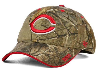 Cincinnati Reds '47 MLB Real Tree Frost Cap