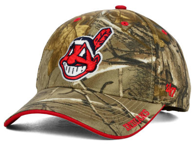 Cleveland Indians '47 MLB Real Tree Frost Cap