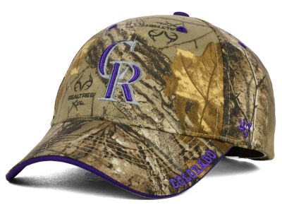 Colorado Rockies '47 MLB Real Tree Frost Cap