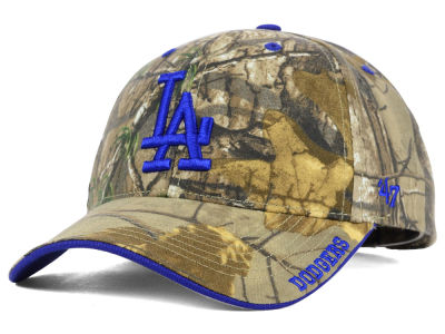 Los Angeles Dodgers '47 MLB Real Tree Frost Cap