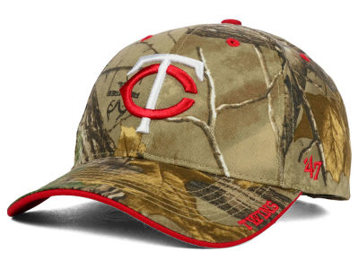 Minnesota Twins '47 MLB Real Tree Frost Cap