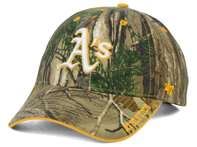 Oakland Athletics '47 MLB Real Tree Frost Cap