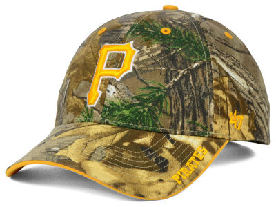 Pittsburgh Pirates '47 MLB Real Tree Frost Cap