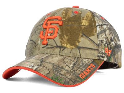 San Francisco Giants '47 MLB Real Tree Frost Cap