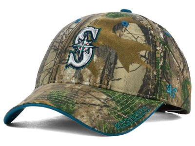 Seattle Mariners '47 MLB Real Tree Frost Cap