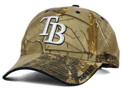 Tampa Bay Rays '47 MLB Real Tree Frost Cap