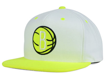 Brooklyn Nets Mitchell and Ness NBA Big Venus Snapback Cap