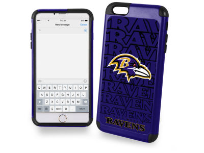 Baltimore Ravens iphone 6 Plus Dual Hybrid Case