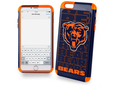 Chicago Bears iphone 6 Plus Dual Hybrid Case