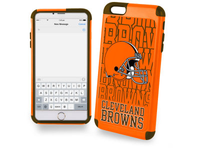 Cleveland Browns iphone 6 Plus Dual Hybrid Case