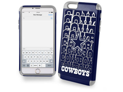 Dallas Cowboys iphone 6 Plus Dual Hybrid Case