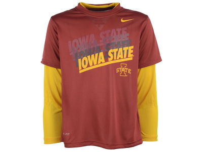 Iowa State Cyclones Nike NCAA Youth Dri-Fit Legend Logo T-Shirt