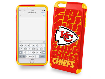 Kansas City Chiefs iphone 6 Plus Dual Hybrid Case