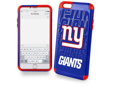 New York Giants iphone 6 Plus Dual Hybrid Case