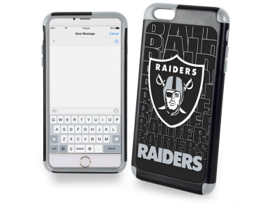 Oakland Raiders iphone 6 Plus Dual Hybrid Case