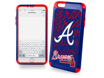 Atlanta Braves iphone 6 Plus Dual Hybrid Case