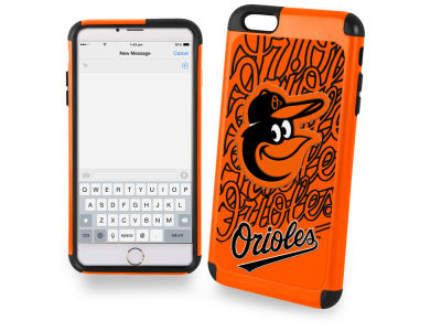 Baltimore Orioles iphone 6 Plus Dual Hybrid Case