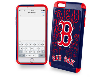 Boston Red Sox iphone 6 Plus Dual Hybrid Case