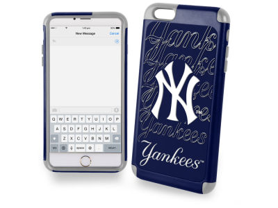 New York Yankees iphone 6 Plus Dual Hybrid Case