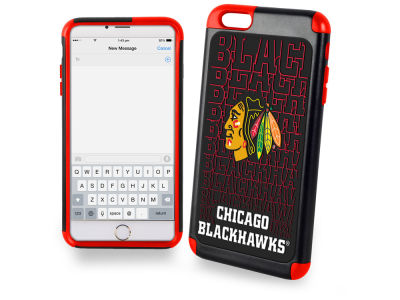 Chicago Blackhawks iphone 6 Plus Dual Hybrid Case