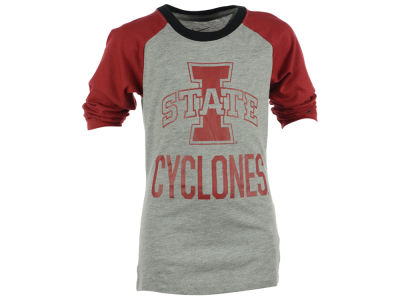 Iowa State Cyclones Nike NCAA Kids Girls Raglan T-Shirt