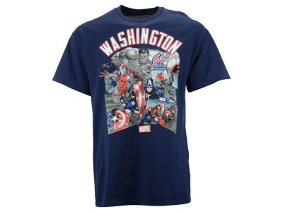 Washington Wizards NBA Men's Comic Shatter T-Shirt