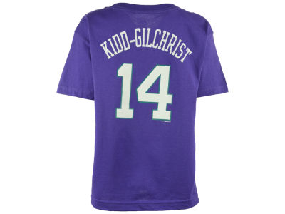 Charlotte Hornets Michael Kidd-Gilchrist Majestic NBA Youth Name And Number T-Shirt