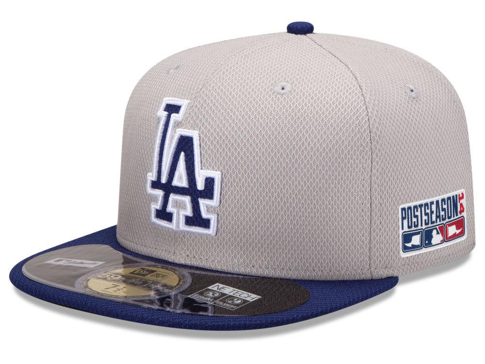 6b77b8871cf Los Angeles Dodgers New Era MLB 2014 Post Season Diamond Era Patch 59FIFTY  Cap XP