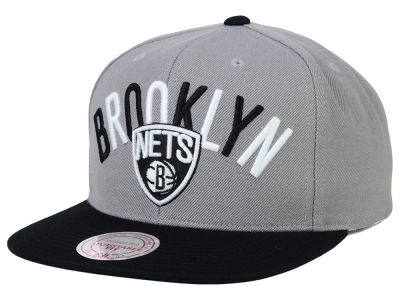 Brooklyn Nets Mitchell and Ness NBA Big Poppin Snapback Cap