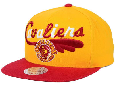 Cleveland Cavaliers Mitchell and Ness NBA Big Poppin Snapback Cap