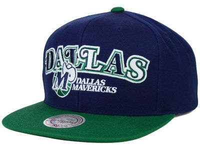 Dallas Mavericks Mitchell and Ness NBA Big Poppin Snapback Cap
